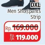 Promo Harga DXL Men Shortpants Strip  - Lotte Grosir