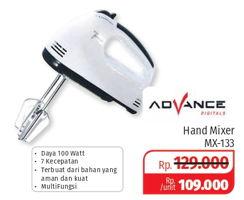 Promo Harga ADVANCE MX-133 Mixer  - Lotte Grosir