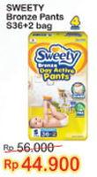 Promo Harga SWEETY Bronze Pants S36+2 38 pcs - Indomaret