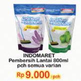 INDOMARET Pembersih Lantai All Variants 800 ml Harga Promo Rp9.000, Tambah Rp.2.000 dapat 2pcs.