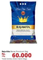Promo Harga RAJA KITA Beras Premium 5 kg - Carrefour