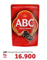 Promo Harga ABC Kecap Manis 520 ml - Carrefour