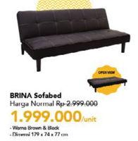 Promo Harga Brina Sofabed  - Carrefour
