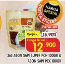 Promo Harga 365 Abon Sapi Super, Original 100 gr - Superindo