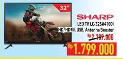 Promo Harga SHARP LC-32SA4100i | LED TV  - Hypermart