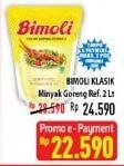 Promo Harga BIMOLI Minyak Goreng 2000 ml - Hypermart