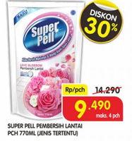 Promo Harga SUPER PELL Pembersih Lantai 770 ml - Superindo