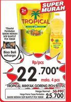 Promo Harga TROPICAL Minyak Goreng 2000 ml - Superindo