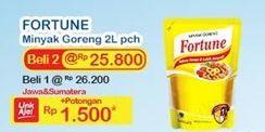 Promo Harga FORTUNE Minyak Goreng 2000 ml - Indomaret