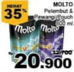 Promo Harga MOLTO Eau De Parfum 800 ml - Giant