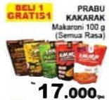 Promo Harga KAKARAK Makaroni All Variants 100 gr - Giant