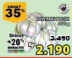 Promo Harga Bawang Putih per 100 gr - Giant
