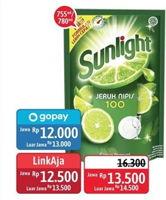 Promo Harga SUNLIGHT SUNLIGHT Pencuci Piring 755ml/780ml  - Alfamidi