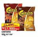 Promo Harga CHITATO Snack Potato Chips All Variants per 2 bungkus 68 gr - Alfamart