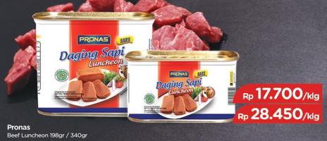 Promo Harga PRONAS Daging Sapi Luncheon 340 gr - TIP TOP