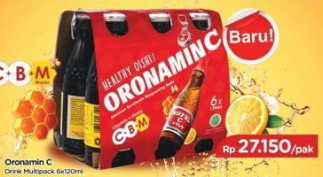 Promo Harga ORONAMIN C Drink per 6 botol 120 ml - TIP TOP
