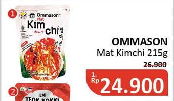 Promo Harga OMMASON Mat Kimchi 215 gr - Alfamidi