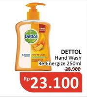 Promo Harga DETTOL Hand Wash 250 ml - Alfamidi