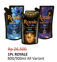 Promo Harga SO KLIN SO KLIN Royale Parfum Collection  - Alfamidi