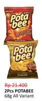 Promo Harga POTABEE Snack Potato Chips All Variants 68 gr - Alfamidi