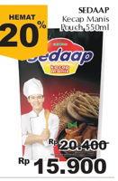 Promo Harga SEDAAP Kecap Manis 550 ml - Giant