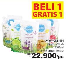 Promo Harga AQUABLISS Body Wash All Variants 450 ml - Giant