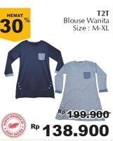 Promo Harga T2T Blouse Wanita M-XL  - Giant