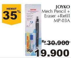 Promo Harga JOYKO Pencil Mekanik MP 03A  - Giant