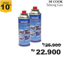 Promo Harga HICOOK Tabung Gas Mini  - Giant
