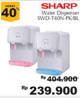 Promo Harga SHARP SWD-T40N | Water Dispenser  - Giant