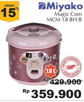 Promo Harga MIYAKO MCM-18 BH Magic Warmer  - Giant