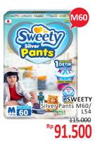 Promo Harga SWEETY Silver Pants M60, L54  - Alfamidi