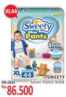 Promo Harga SWEETY Silver Pants XL44 44 pcs - Alfamidi