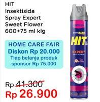Promo Harga HIT Aerosol Expert Sweet Flower 675 ml - Indomaret
