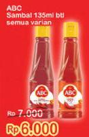 Promo Harga ABC Sambal All Variants 135 ml - Indomaret