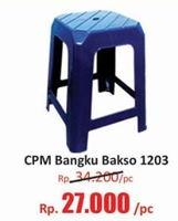 Promo Harga CPM Bangku Bakso 1203  - Hari Hari