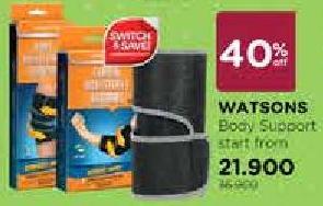 Promo Harga WATSONS Body Support  - Watsons