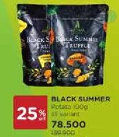 Promo Harga AROMA Black Summer Truffle Potato Chips All Variants 100 gr - Watsons