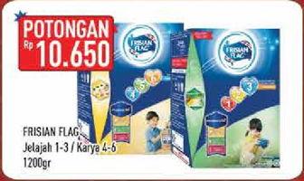 Promo Harga FRISIAN FLAG 123 Jelajah / 456 Karya 1200 gr - Hypermart