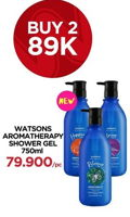 Promo Harga WATSONS Shower Gel per 2 botol 750 ml - Watsons