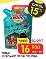 Promo Harga SEDAAP Kecap Manis Special 550 ml - Superindo