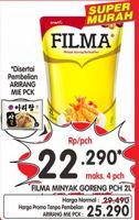 Promo Harga FILMA Minyak Goreng 2000 ml - Superindo