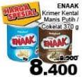 Promo Harga CAP ENAAK Susu Kental Manis Putih, Cokelat 370 gr - Giant
