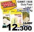 Promo Harga GIANT GIANT/ SUS Gula Pasir 1kg  - Giant