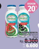 Promo Harga NUTRIVE BENECOL Smoothies All Variants 100 ml - LotteMart