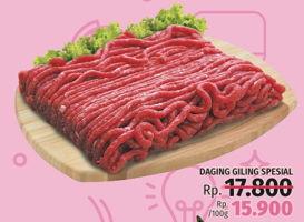 Promo Harga Daging Giling Spesial per 100 gr - LotteMart