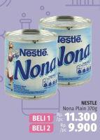 Promo Harga NESTLE Cap Nona Krimer Kental Manis per 2 kaleng 370 gr - LotteMart
