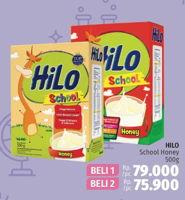 Promo Harga HILO School Susu Bubuk Honey per 2 box 500 gr - LotteMart