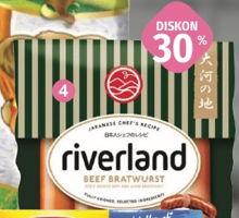 Promo Harga Riverland Sausage  - LotteMart