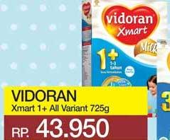 Promo Harga VIDORAN Xmart 1+ All Variants 725 gr - Yogya